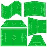 Terrain de football Images libres de droits