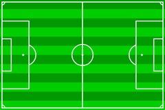 Terrain de football Photos libres de droits