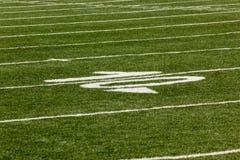 Terrain de football Image libre de droits