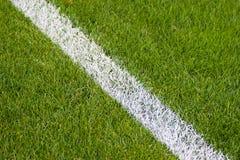 Terrain de football. Photo stock