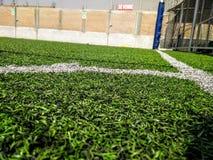 Terrain de football Photographie stock