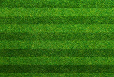 Terrain de football d'herbe verte Photographie stock