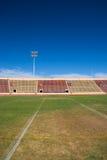Terrain de football d'université images libres de droits
