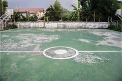 Terrain de football de rue Images stock