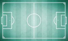 Terrain de football de vintage de texture illustration libre de droits