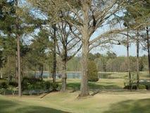Terrain de golf à Augusta Photographie stock libre de droits