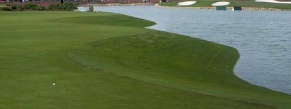 Terrain de golf à Dubaï, Jumeirah Images libres de droits