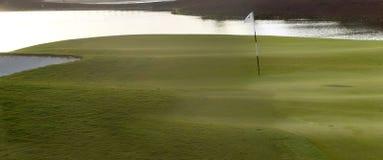 Terrain de golf à Dubaï, partie Photo stock