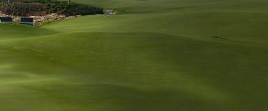 Terrain de golf à Dubaï, partie Images libres de droits