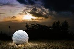 Terrain de golf Photos libres de droits