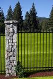 Terrain de golf Photo libre de droits