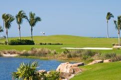 Terrain de golf Image stock