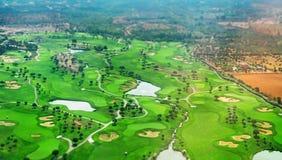 Terrain de golf Photo stock