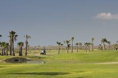 Terrain de golf Images stock