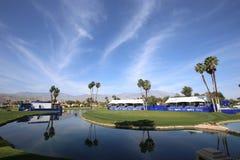 Terrain de golf au tournoi 2015 de golf d'inspiration d'ANA Images libres de droits