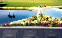 Terrain de golf au tournoi 2015 de golf d'inspiration d'ANA Image stock