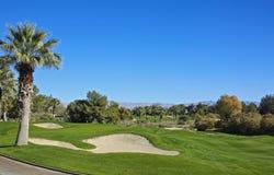 Terrain de golf de crique de four Photographie stock libre de droits