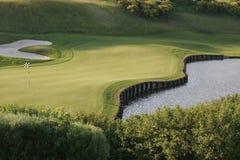 Terrain de golf d'Albatros, France Photo stock