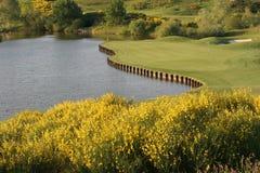 Terrain de golf d'Albatros, France Photo libre de droits