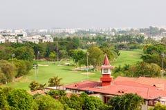 Terrain de golf d'association de golf de Karnataka photos stock