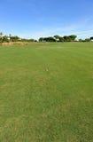 Terrain de golf d'EL Rompido, Andalousie, Espagne Photos stock