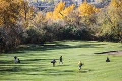 Terrain de golf dans le Canada Photo libre de droits