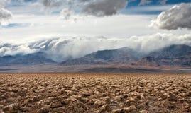 Terrain de golf de diables Photographie stock libre de droits