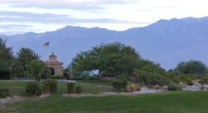 Terrain de golf de joueur de Gary photos libres de droits