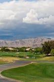 Terrain de golf de joueur de Gary, Palm Spring image libre de droits