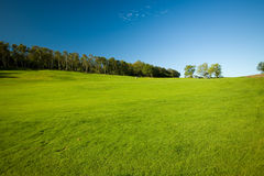 Terrain de golf de Molle en Suède Photo libre de droits