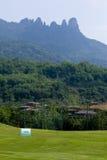 Le paysage naturel de l'île de Hainan de la Chine Photographie stock