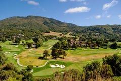 Terrain de golf de Pebble Beach Image stock