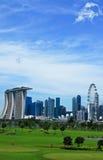 Terrain de golf de Singapour image stock