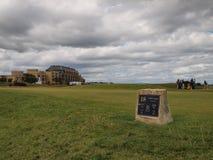 Terrain de golf de St Andrews Links Old Course Images stock