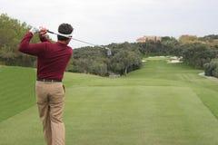 Terrain de golf de Valderrama, Espagne Image stock