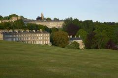 Terrain de golf de ville de Bath image stock