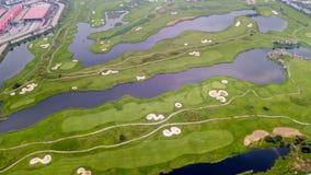 Terrain de golf du Macao Photos libres de droits