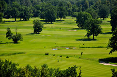 Terrain de golf Hluboka NAD Vltavou Images stock