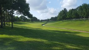 Terrain de golf la Floride photographie stock
