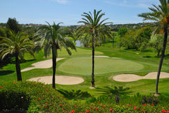 Terrain de golf Las Brisas Photographie stock libre de droits