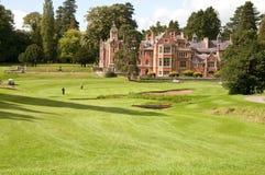 Terrain de golf pittoresque Images libres de droits