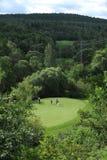 Terrain de golf - République Tchèque Photo stock