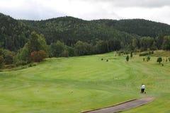 Terrain de golf - République Tchèque Images libres de droits