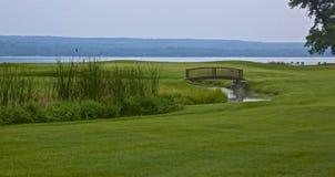 Terrain de golf de Sugarbrooke photo libre de droits