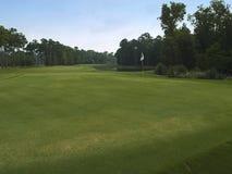 Terrain de golf vert photo stock