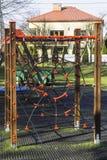 Terrain de jeu avec des cordes Photos stock