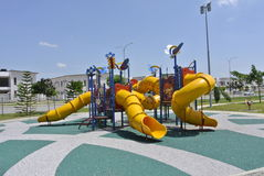 Terrain de jeu d'enfants dans Seremban Image libre de droits