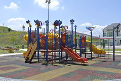 Terrain de jeu d'enfants dans Seremban Images libres de droits