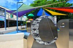 Terrain de jeu dans l'Australie du Queensland de cairns Images libres de droits