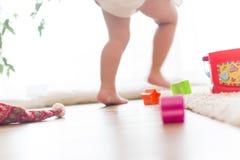 Terrain de jeu de bébé Photos stock
